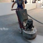 полирование бетонного пола